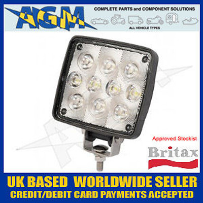 BRITAX L71.00.LDV Poweful 10 LED Work/Search Lamp 12/24v