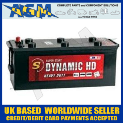 MONBAT Dynamic HD Battery 670 023 Type 629/621 Fits SCANIA, DAF, IVECO, MAN, VOLVO etc.