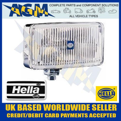 HELLA Classic 181 High Quality Chrome Body Spot Driving Lamp with Protective Cover