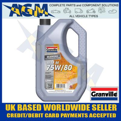 Granville 1717 EP 75w/80 Hypoid Gear Oil 5 Ltr