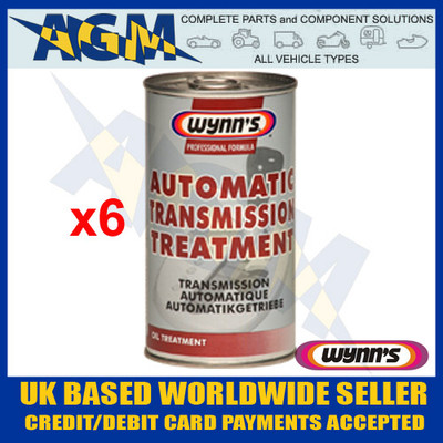 WYNNS Professional 64544 Automatic Transmission Treatment 325ml Can (Pack of 6)