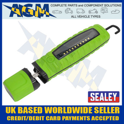 sealey, led360g, led, rechargeable, hand, inspection, lamp