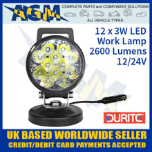durite, 0-420-79, 042079, led, work, lamp, handle
