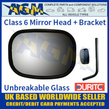 john deere al78021 wing rear view mirror e marked replacement head durite 0 770 08 class 6 mirror head
