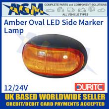 Durite 0-170-30 Amber LED Oval Side Marker Lamp