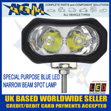 Led Autolamps 92B6BM Blue Purpose Special LED Spot Lamp