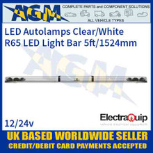 EQLB602AC LED Lighbar Clear/White Twin Light Module 5ft/1524mm