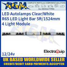 EQLB604AC LED Lightbar Clear/White Four Light Module 5ft/1524mm