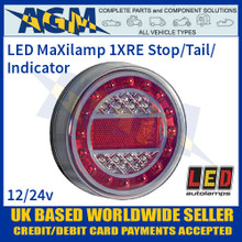 LED Autolamps 1XRE MaXilamp Stop/Tail/Indicator Combination Lamp, 12-24v