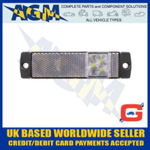 guardian, ml74w, trailer, rear, marker, light, lamp, clear, 12v, 24v
