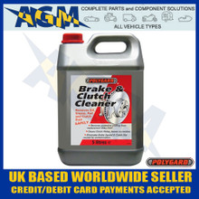 polygard, 12200a, brake, clutch, cleaner
