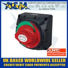 durite, 0-605-12, rotary, marine, battery, isolator, 300, amp, switch