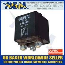 Durite 0-727-08, 24V, 100 Amp Heavy Duty Relay