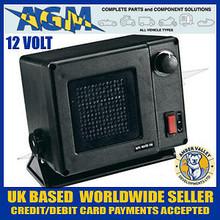 AMBER VALLEY AVFN 10/12 12volt 300W Ceramic Fan Heater