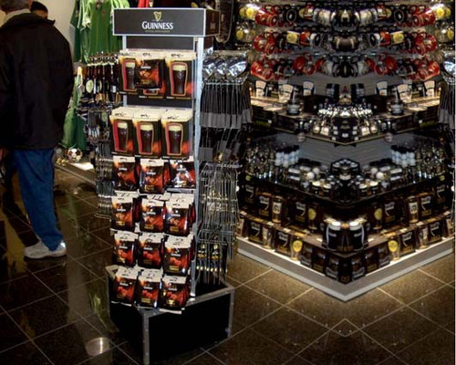 Point of sale tower - Guinness