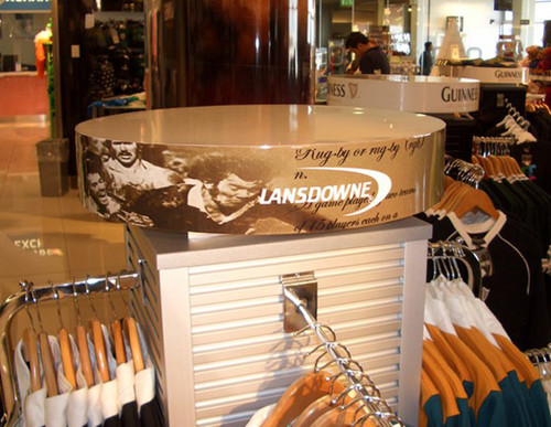 Point of sale display - Lansdowne Clothing