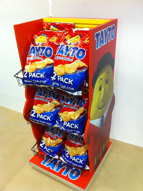 Point of sale display  -  Tayto Crisps