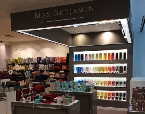 Max Benjamin at House of Fraser, Dundrum Shopping Centre