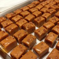 Chocolate Bacon Salted Caramel Squares