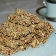 Handmade English toffee sticks by Littlejohns candies