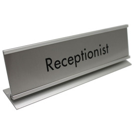 "Professional Framed Nameplate - 2"" x 8"""