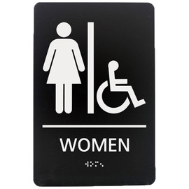 "Women's Accessible - 8¾"" x 5¾"""