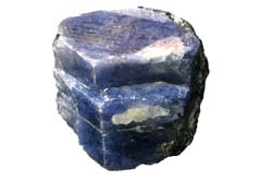 Blue Corundum releases depression and spiritual confusion - Free info on healing properties and how to use with purchase - Free shipping over $60.