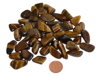 extra small tumbled gold tiger eye