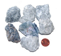 Blue Calcite - extra large