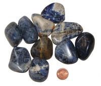 Tumbled Sodalite - Size Huge