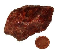 Red Calcite - Specimen C - Image 1