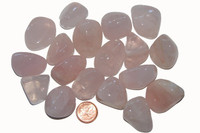 Rose Quartz - tumbled - extra large