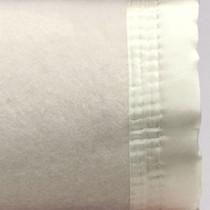 Cream Super King Wool Blanket