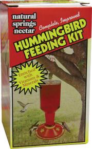 Hummingbird Feeding Kit 32 Ounce - Feeder and Nectar