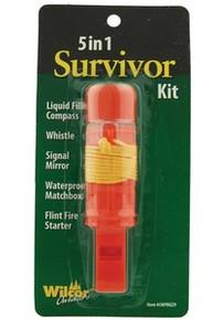 5-in-1 Survivor Survival Hiking Kit