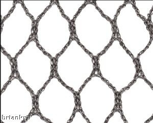 "Aviary Netting 1"" heavy knitted 6'x150'"