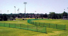 Premium baseball outfield fencing