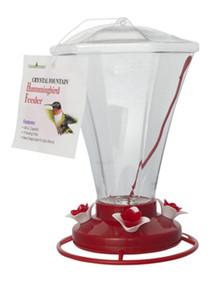 Large Hummingbird Feeder 48 oz, Crystal Fountain