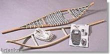 Build Your Own Snow Shoes Kit Snowshoe Craft Kits