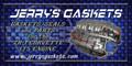 Banner, Jerrys Gaskets, Blue