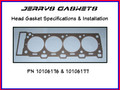 Cylinder Head Gasket Technical Info