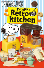 Snoopy Retro Kitchen Re-ment Miniatures (SOLD OUT)