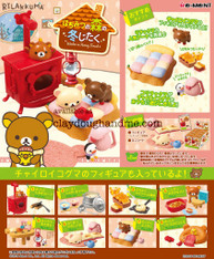 Re-ment Rilakkuma Winter/ Rilakkuma Christmas Re-ment Miniatures (SOLD OUT)