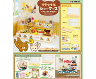 Re-ment Rilakkuma Showcase - NEW DESIGN