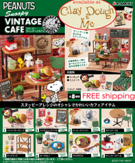 Re-ment Snoopy Vintage Cafe