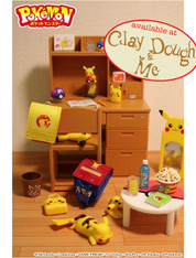 Re-ment Pikachu Study Room (SOLD OUT)