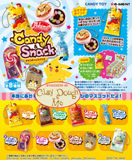Re-ment Pokemon Candy & Snack Charms