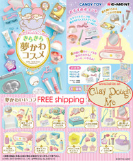Little Twin Stars Cosmetics Re-ment Miniatures / Re-ment Sanrio Little Twin Stars Cosmetics