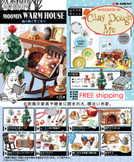 Re-ment Moomin Warm House, with DISPLAY