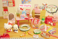 BUNDLE SET Re-ment Hello Kitty Nostalgic Items & Sanrio Lovely Memories